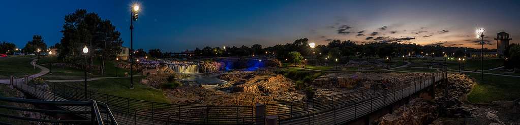 Falls Park Panorama