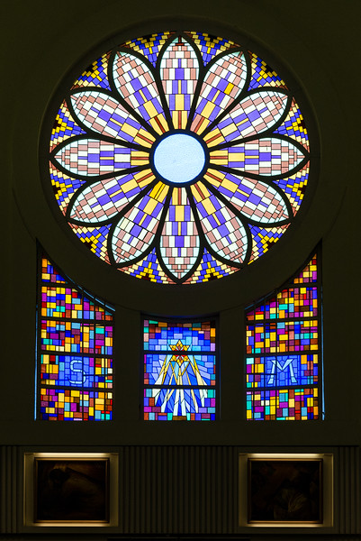 St. Theresia Church's Stained Glass