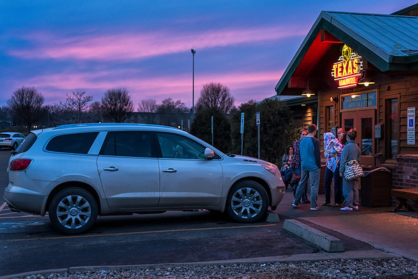 Family Supper at Texas Roadhouse