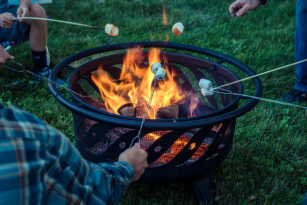 Fire Pit and S'more
