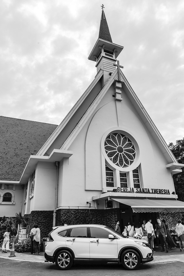 St. Theresia Church's Main Entrance