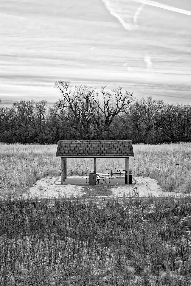 Birdwatcher's Picnic Shelter