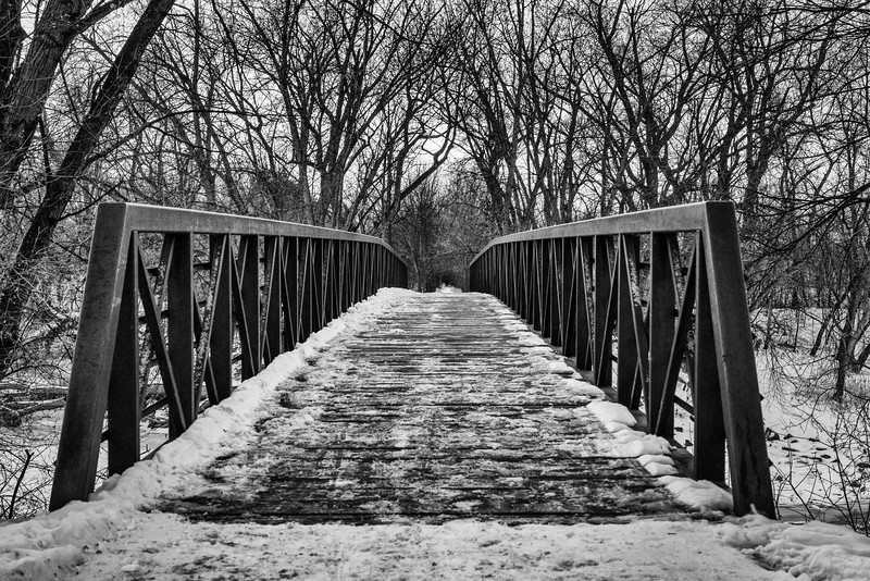 A Bridge Over the Frozen River