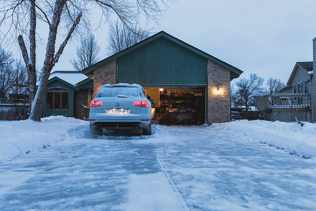 Clear Driveway Before Work, Check