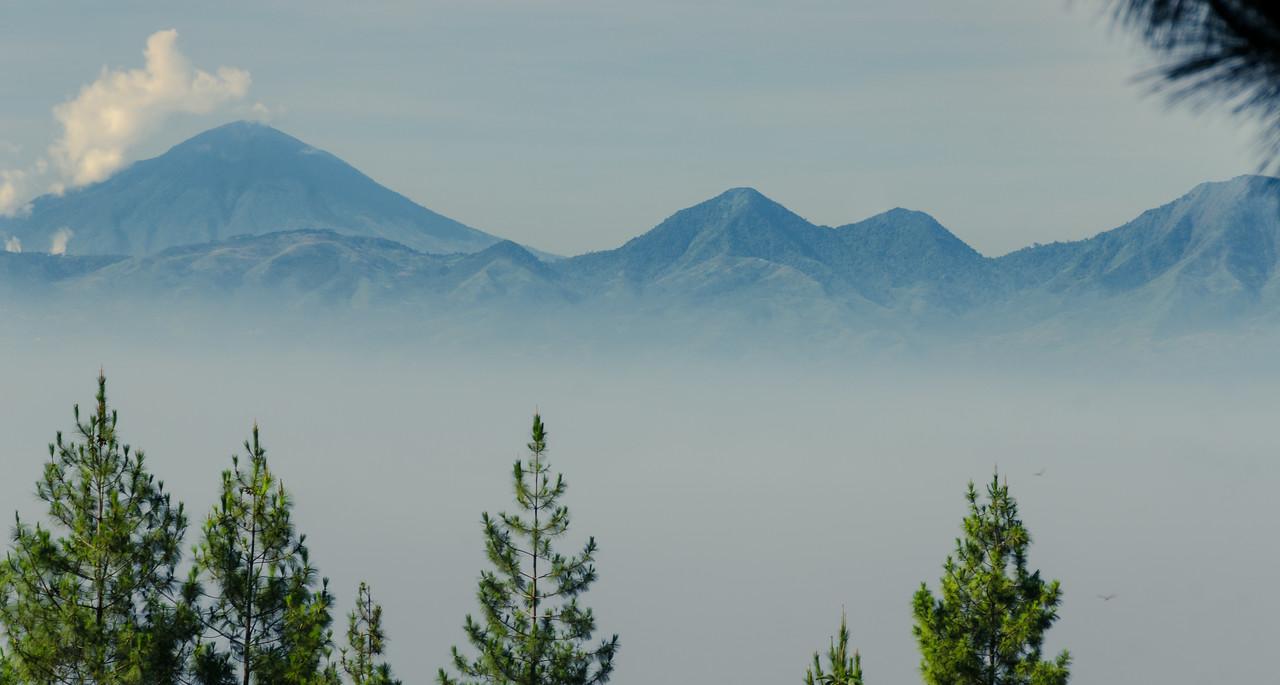 Morning Fog Over Bandung