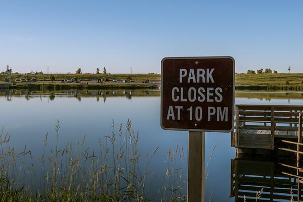 Park Closes at 10 PM