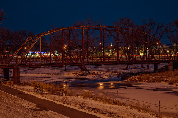 Empty Bridge, Busy Street
