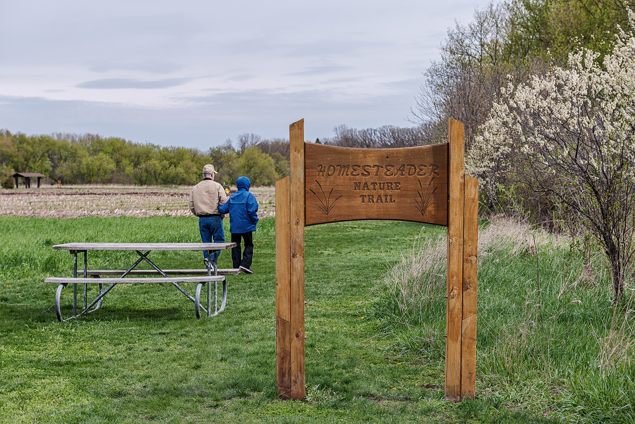 The Nature Trail Starts Here