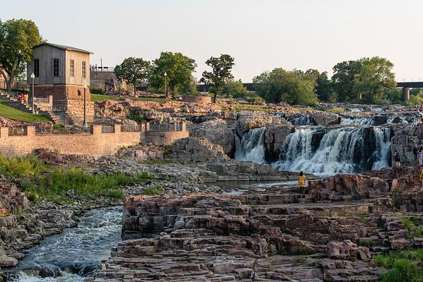 The Falls in Falls Park