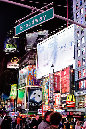 Broadway<br /> <br /> Times Square.