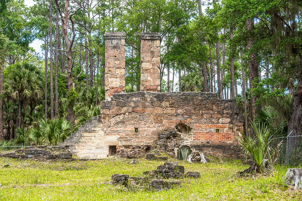 The Dummett Sugar Mill  Ruins -  Ormond Beach, FL