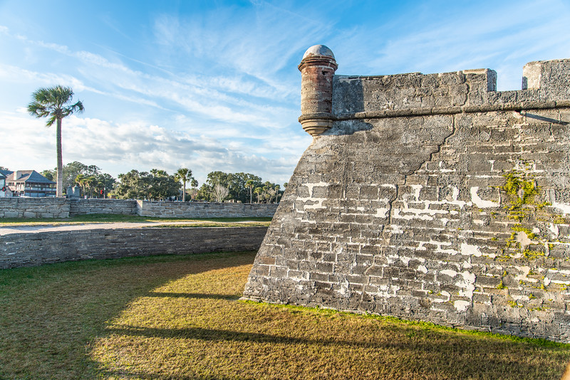 Castillo de San Marcos fort - St. Augustine, FL