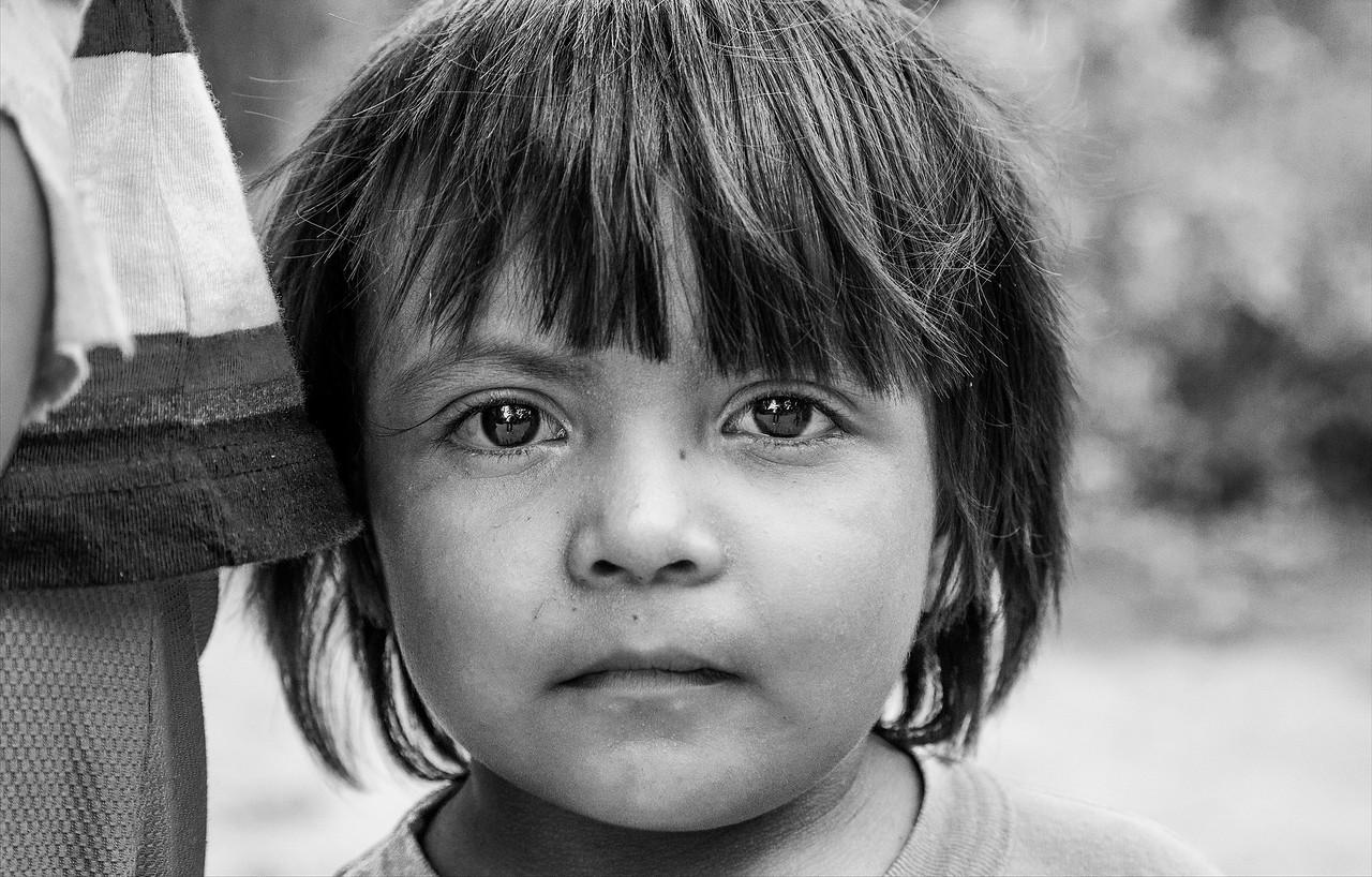 Niño wichi / Wichi kid - Paraje Las Hacheras