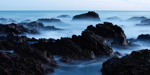 Worser Bay (Long Exposure) - Landscape