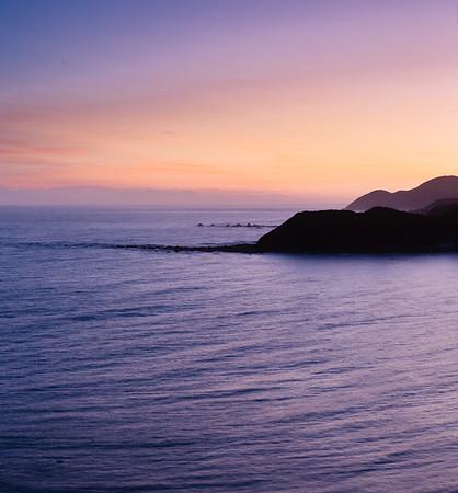 Wellington South Coast Sunset