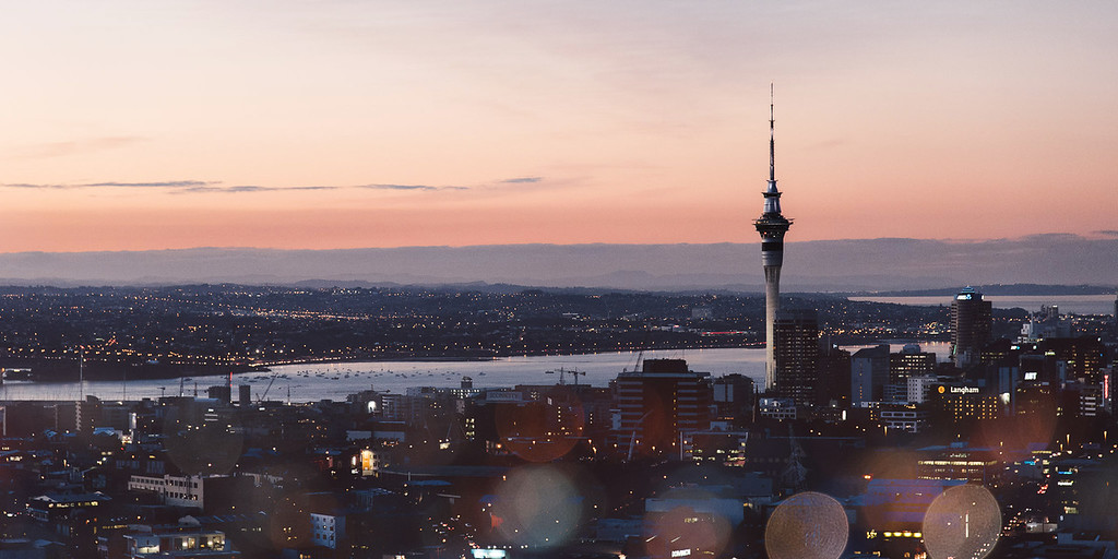 Auckland City Pano