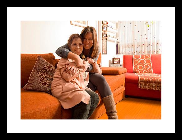 Buscarita and Claudia