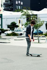 Local Skaters @ Waitangi Park