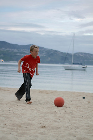 Beach Football - Oriental bay