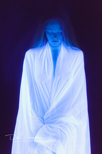 Another image with @gingersparrow from the blacklight phothshoot.