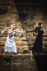 Sunday Andrea Noftall offered to find some locations in Smith's Falls to do a photoshoot on the theme of Good versus Evil with myself and the incredible @lorinda_model. With Lorinda providing the wings, some of my costuming, and Andrea's location it proved to be a great collaboration. Here is a sample from the first set.