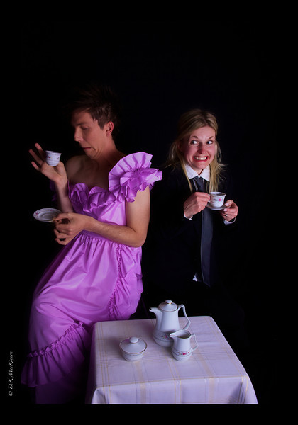 """She: """"In fact, I have no idea what this tea tastes like. I don't even know if I made it right."""""""