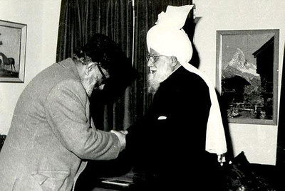 Meeting with Hazrat Khalifatul Masih III (rh)