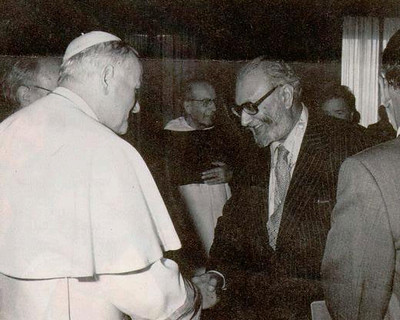 Meeting with Pop John Paul II