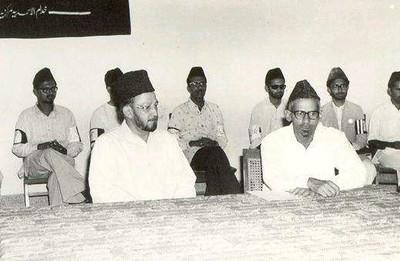 At Khuddam ul Ahmadiyya function