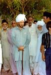 Hazrat Mirza Tahir Ahmad soon after becoming Caliph