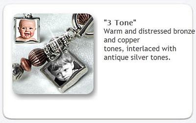 Toggle Bracelet - 3tone