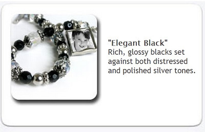 Toggle Bracelet - Elegant black - $35