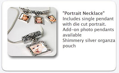 Portrait Necklace -   $35