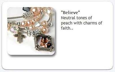 Charm Bracelet - Believe  $35