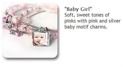Charm Bracelet - Baby Girl $35