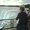 Mum & Sheila at Niagara Falls Canada.