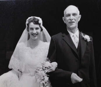 Grandpa and Camilla at her wedding