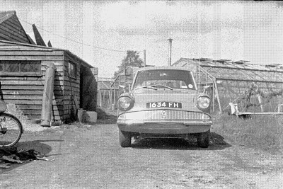 My First car a 1961 Ford Anglia
