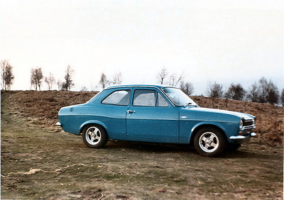 After the Lotus Cortina I bought an Escort RS 1600 from Broadspeed, i ran this for a few years then traded it to Frank Pierson for this  tamer Escort Mexico, it was actually less maintenance and with my busy lifestyle ended up a wise choice. I put 50,000 miles on it before I changed the oil (first time) and clutch at the same time.