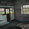 What was the garage is now the kitchen area