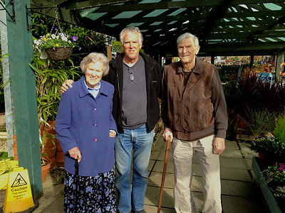 Lunch at the local garden center with brother in las Steve (photographer) and Mum & Dad.