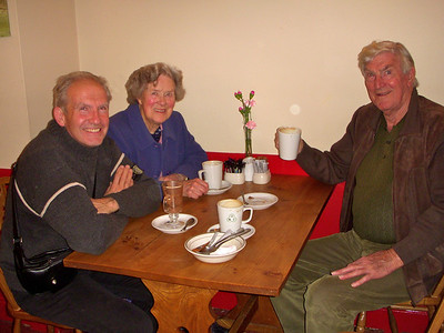 Steve, Mum & Dad in Good News for lunch