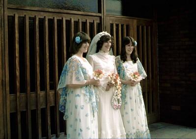Wedding 1978 Ian & Anne