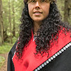 Model in Tlingit Regalia