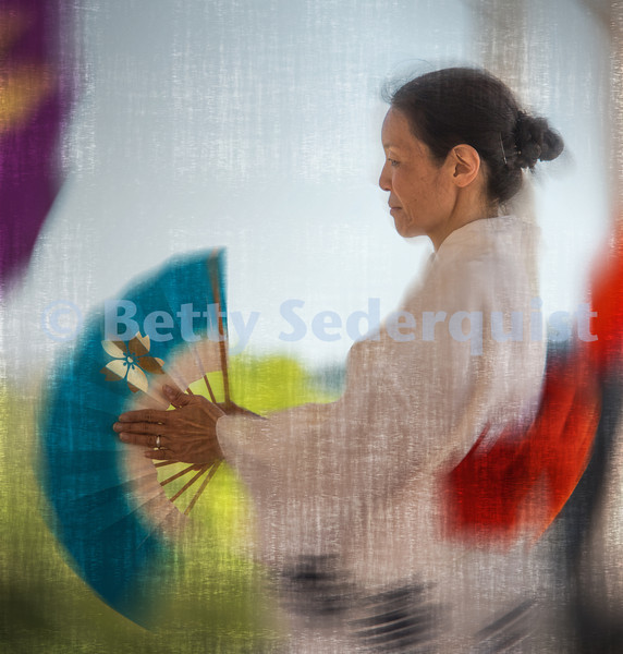 Artsy Japanese Dancer
