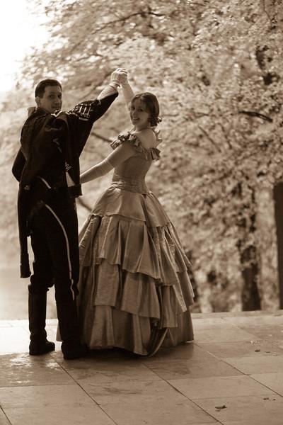 XIX century romantic story