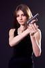 lady and gun