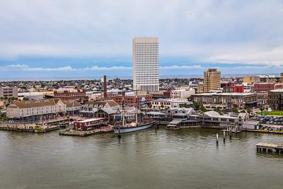 Here we go! Galveston Harbor