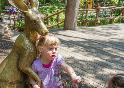 NO! You are not getting my Roo! Back away, little girl! Back away NOW!