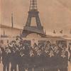 1959-08-10 TX Boys Choir, John L Clark, Eiffel Tower Paris, Ft W Star Telegram